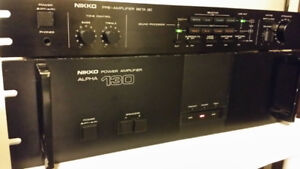 Nikko Beta 30 Preamplifier MM MC Phono