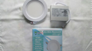 "LED recessed lights (4"")"