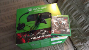 Xbox One and gears of war 4