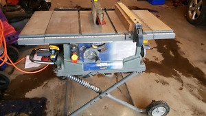 Mastercraft folding table saw