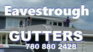 Gutters Eavestrough Installation & Repairs...All Exteriors