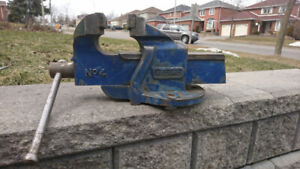 Vise made by Record