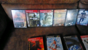 Playstation 2 Console, Controller's & games.