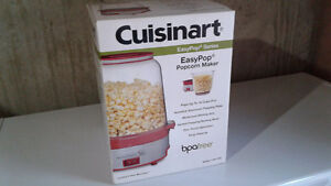 New in box Cuisinart popcorn maker
