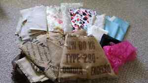 Burlap and Upholstery/Decor Weight Fabric