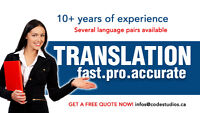 YOUR WEBSITE TRANSLATION - Quick, Accurate & Professional ++++++