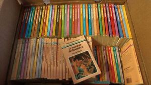 Collection livre romantique type Harlequin