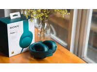Sony MDR-100AAP High Resolution Overhead Headphones - Blue (RRP - £174.90)