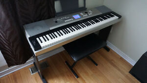 Yamaha YPG-525  88 Key Portable Grand keyboard, Great condition