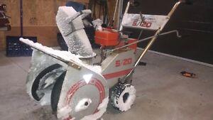 snow blower craftman 5 hp 20 inch