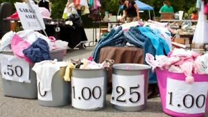 YARD SALE MONDAY MAY 21 - BABY/TODDLER/TEEN/ADULT