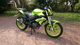 Benelli BN125 800 MILES AS NEW 2020