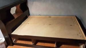 Under Storage Bed frame + bedside table