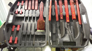BBQ Tool Set with carrying case - New Never Used