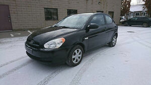 2007 Hyundai Accent Coupe (2 door) automatic