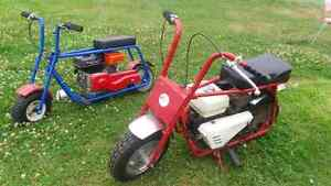 Mint Rupp mini bike and rare Dmp  mini bike