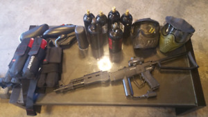 Paintball Package - buy all or make offer on pieces separate