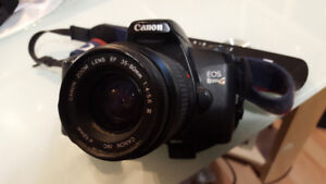 Canon EOS Rebel G SLR with bag