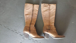 Leather boots by Born