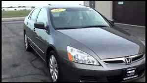 Wanted 2006/2007 Honda Accord Ex-L V6 4dr
