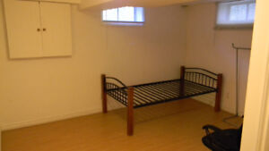 Room in a basement apartment all inclusive