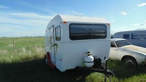 Gernada Fibreglass Travel Trailer
