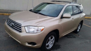 2008 Toyota Highlander EQUIPPED, REMOTE STARTER, NEW TIRES, A-1!