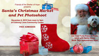 SANTA'S CHRISTMAS MARKET & PET PHOTOSHOOT - Cobourg, Port Hope