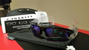 New Oakley Flak 2.0, 2.0 XL, Sliver Daily Polarized Prizm Golf