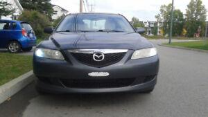 * Mazda 6 2004 Manuel 180 000 kilo Vente ou Echange *