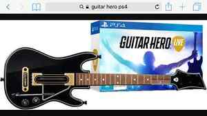 Guitar Hero Live PS4 Windsor Region Ontario image 1