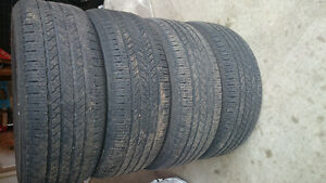 "4 17"" all season tires for $80"