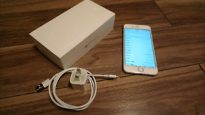 iPhone 6 White 64GB iOS 11.2 Bell