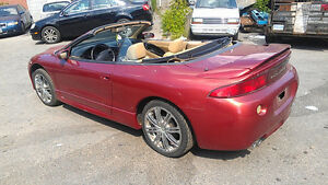 1998 Mitsubishi Eclipse Spyder GS 2.4L Automatic Convertible