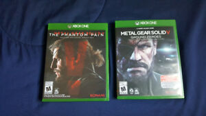 Metal Gear Solid V The Phantom Pain & Ground Zeroes (Xbox One)