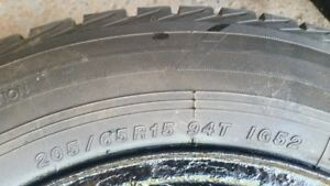 Winter Tire Yokohama Ice Guard IG52C 205/65R15 with Rim