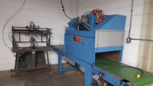 Bottles Silk Screen Printing Machine with Dryer