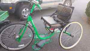 Handcycle for sale.