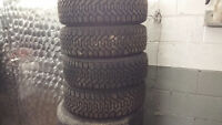 WINTER TIRES AND RIMS 185/60/15