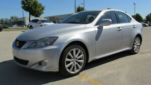 2008 Lexus IS 250 AWD 42000km All Service Records