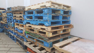 Limted Time Offer: FREE Pallets To Pick Up!