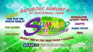 Summer Spectacular Family VBS in the Park
