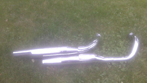 2008 Honda Shadow 750 exhaust pipes (HM MFE A1)