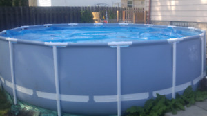 16 ft intex pool