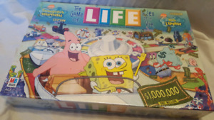 The Game of Life Spongebob Edition
