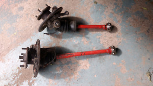 1977 austin mini front wheel drive hubs and shafts