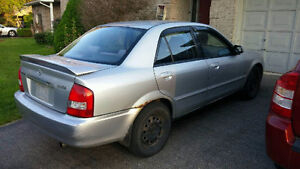 2002 Mazda Protege Sedan - needs work!