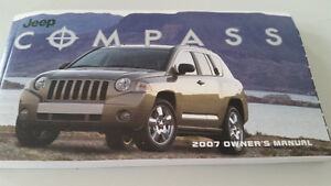 Jeep Compass 2007 brand new Owner's Manual
