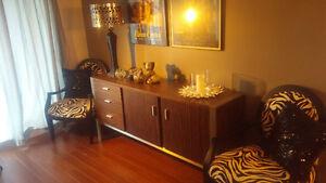 Designer credenza cabinet for sale