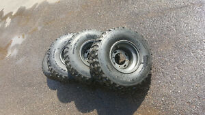 4 Tires on the rim